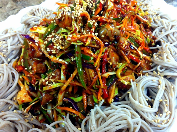 Golbaengi Muchim (Spicy Bai Top Shell Salad) Written Recipes!
