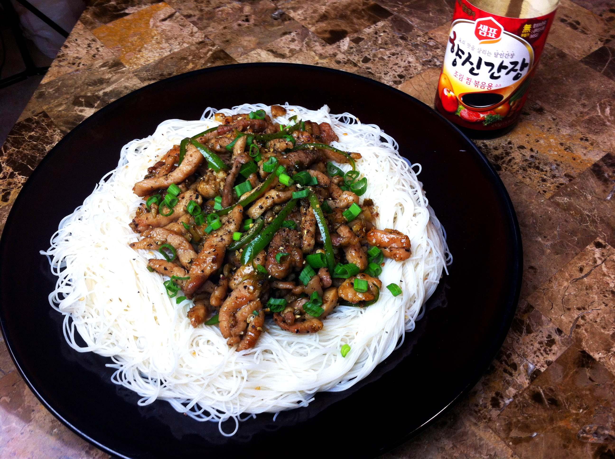 Sichuan Pepper Pork