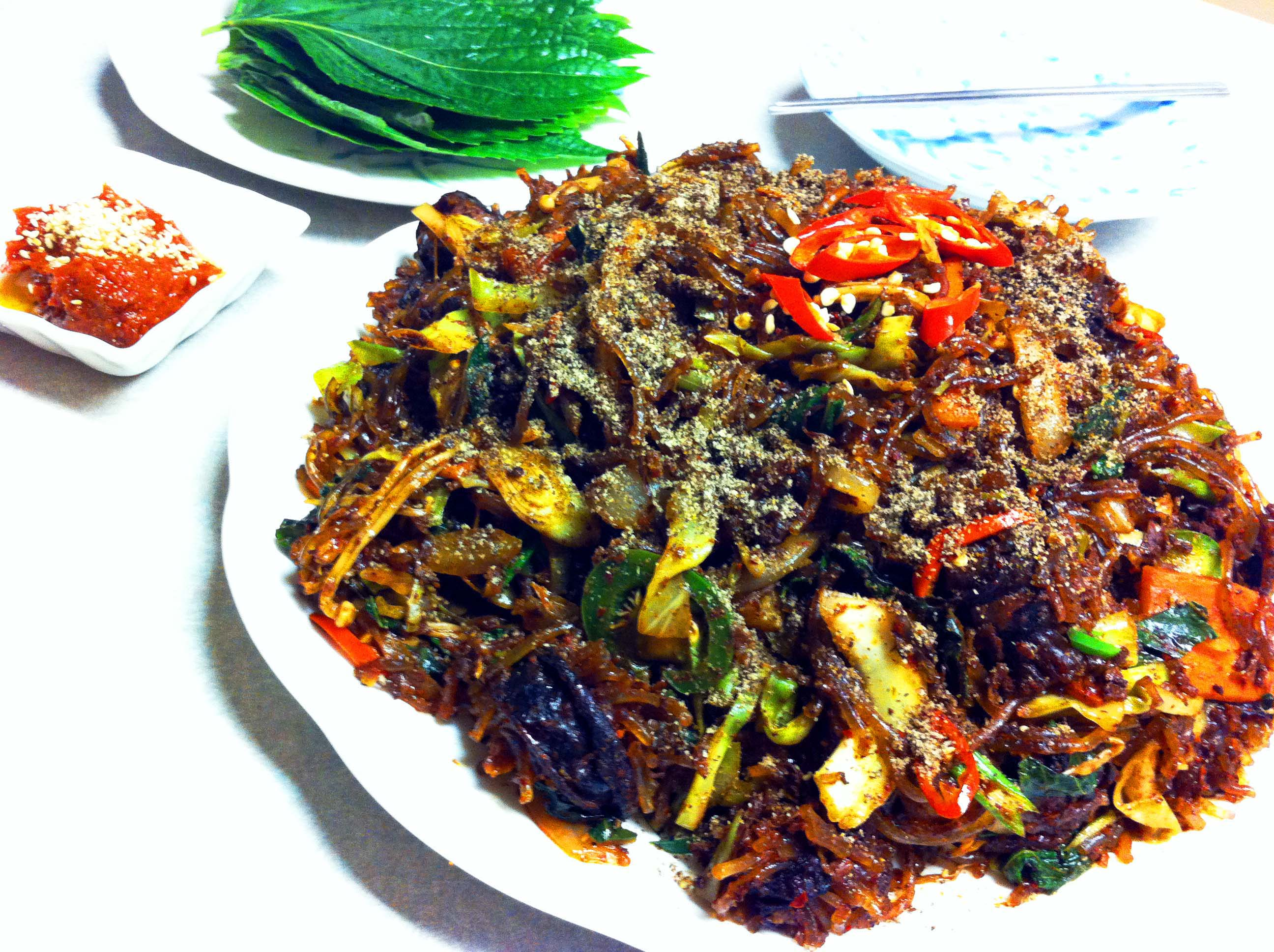 Stir Fry : Soondae Bokeum (Spicy Korean Stir Fry Blood Sausage) : Korean Food : CHOPCHOP Recipe
