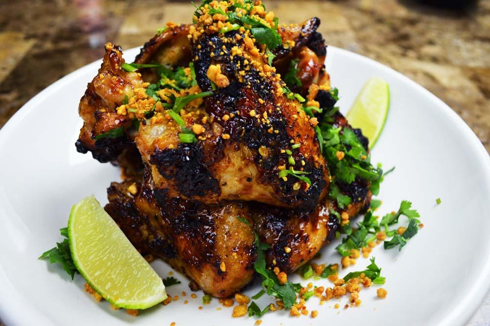 Thai Hot Wings Recipe & Video