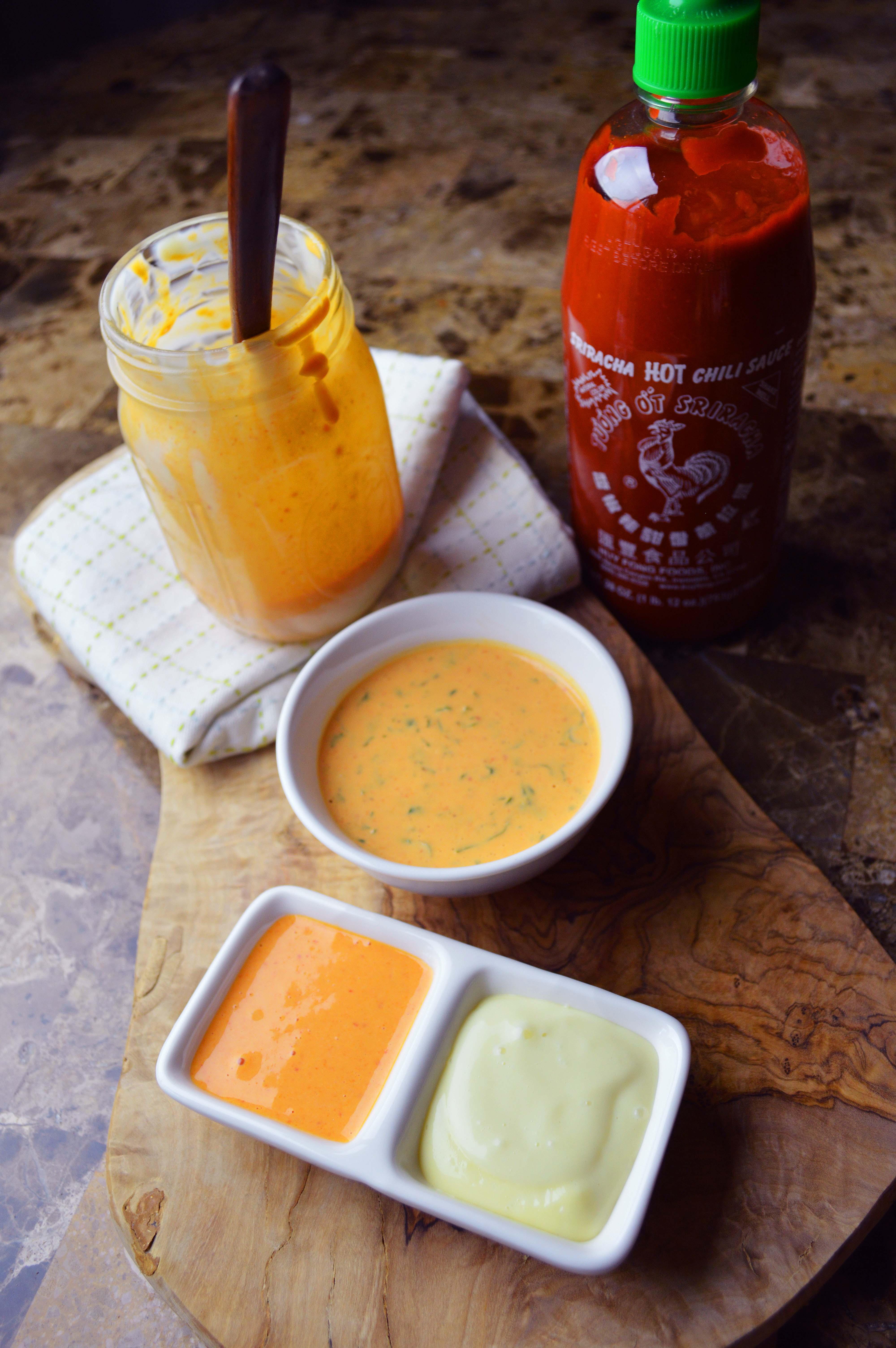 Sriracha Mayo : Sriracha Dressing : Sriracha Sauce :  Sriracha Recipes