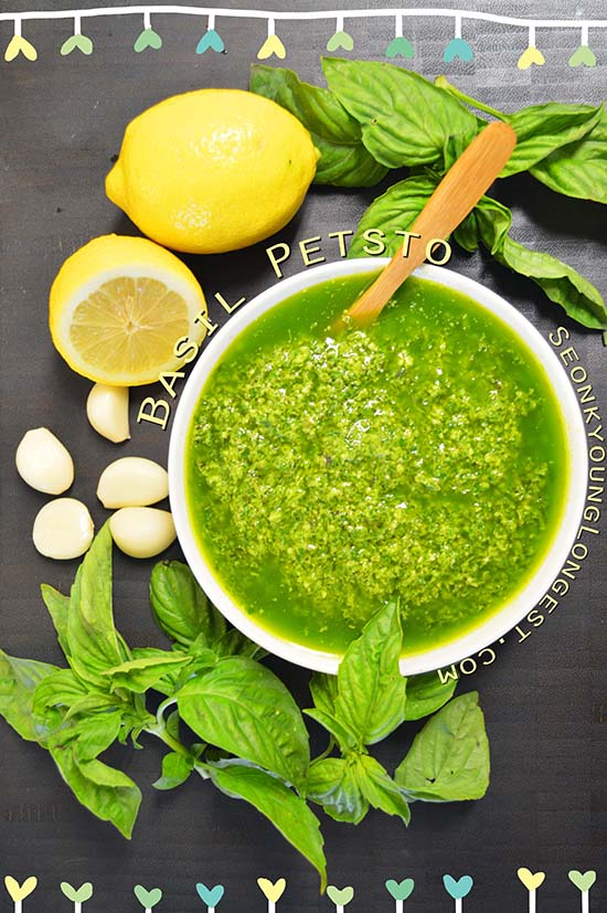 Classic Basil Pesto Recipe & Video