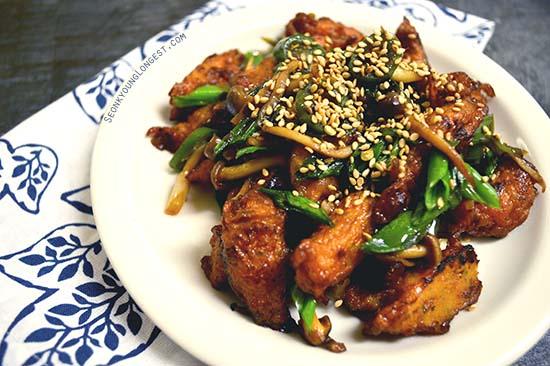Korean stir fry fishcake korean side dish seonkyoung stirfry fishcake forumfinder Gallery
