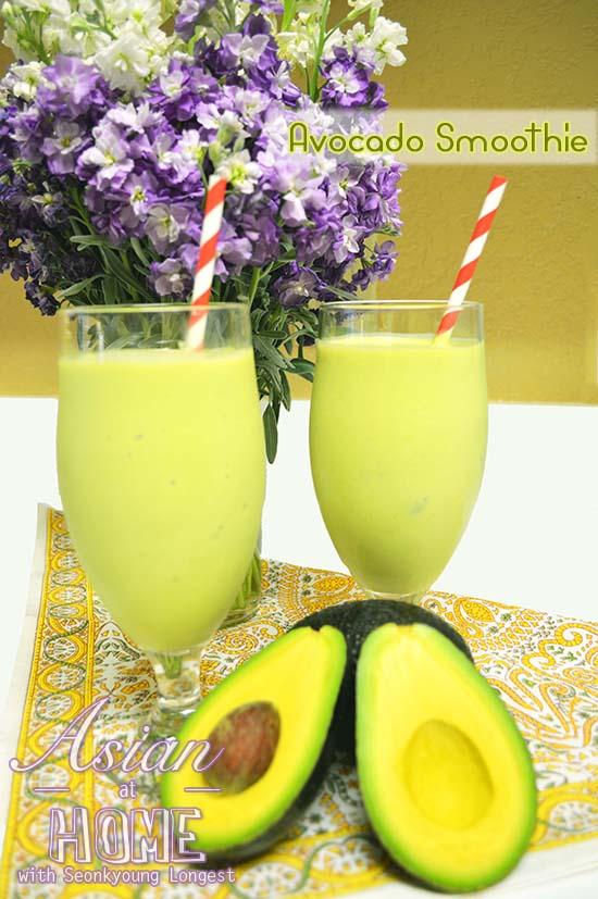 How to Make Avocado Smoothie