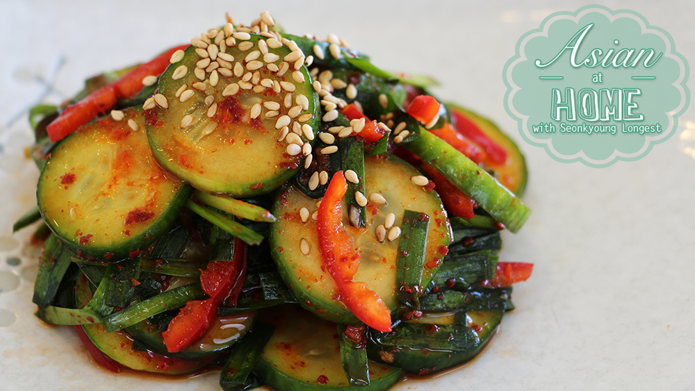 Cucumber kimchi salad recipe quick cucumber kimchi seonkyoung my cucumber kimchi salad recipe is very refreshing well balance of spicy sweet and tangy it is a great side dish for korean bbq which i always make when forumfinder Image collections