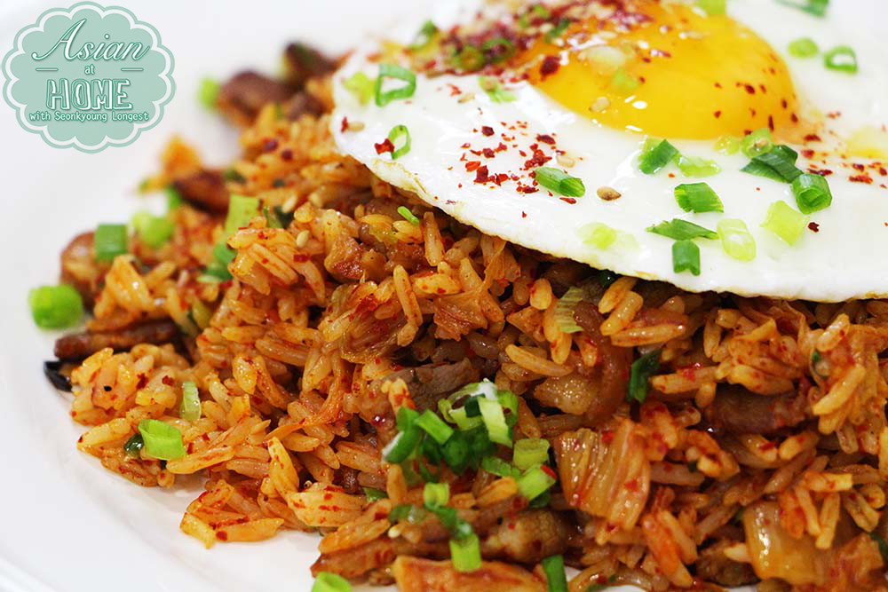 Best kimchi fried rice recipe asian at home for Rice recipes to go with fish
