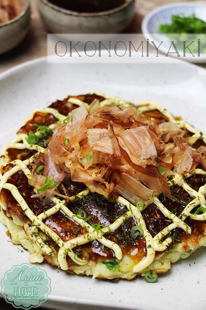 Okonomiyaki Recipe How To Make Okonomiyaki お好み焼き Seonkyoung Longest