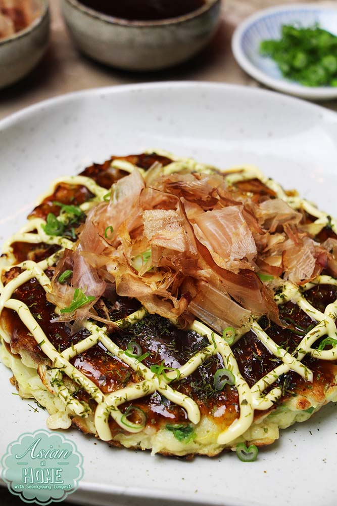 Okonomiyaki Recipe : How to Make Okonomiyaki (お好み焼き ...