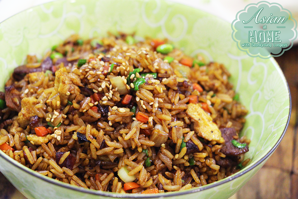 Chinese fried rice recipe asian at home easy fried rice chinese fried rice recipe asian at home easy fried rice seonkyoung longest ccuart Images