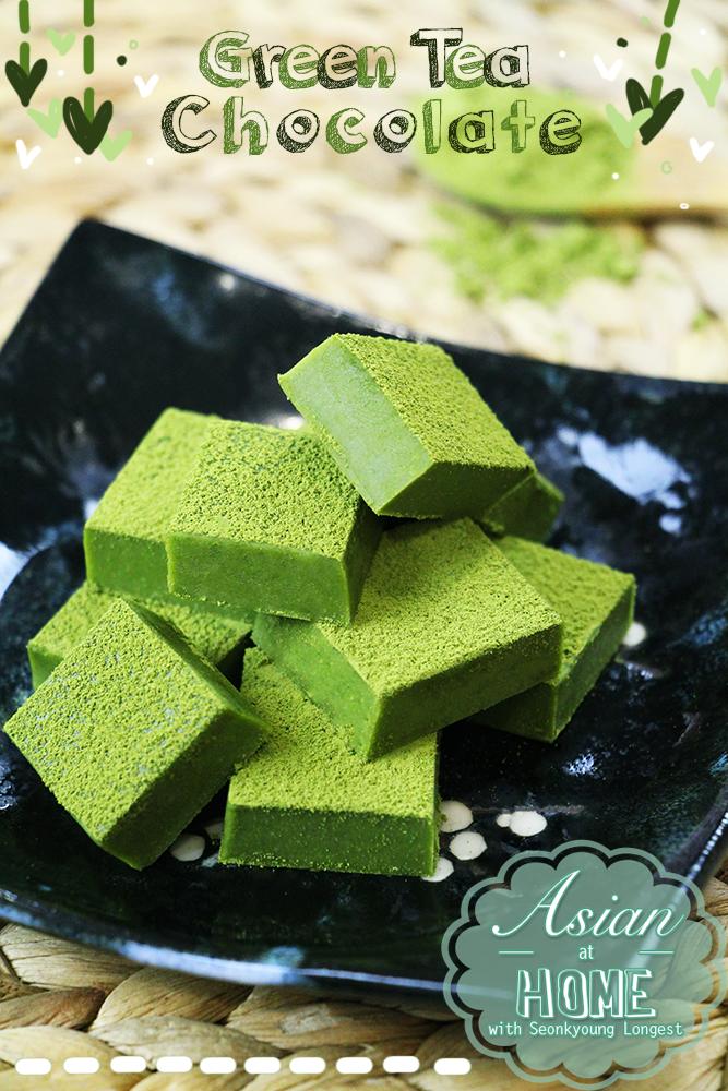 Green Tea Chocolate Recipe Amp Video Seonkyoung Longest