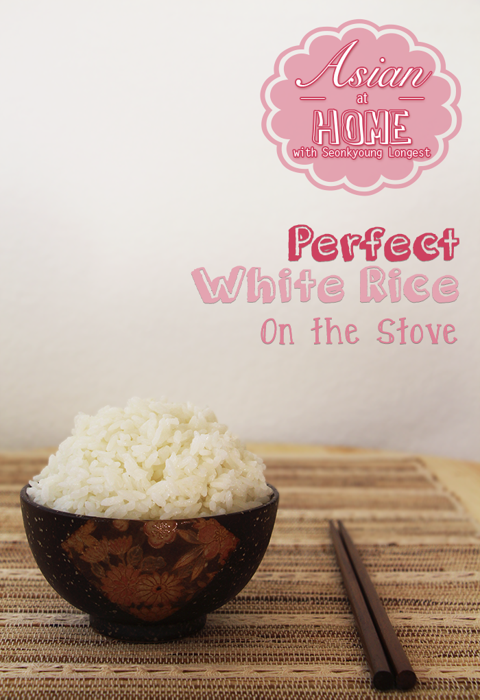 Perfect White Rice on Stove for Korean / Japanese Cuisine