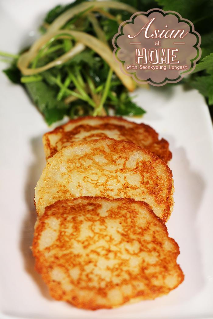 Korean Potato Pancake Recipe : 바삭 쫄깃 감자전 만들기