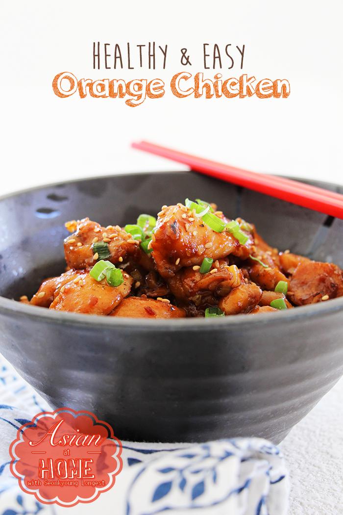 Easy & Healthy Orange Chicken Recipe & Video