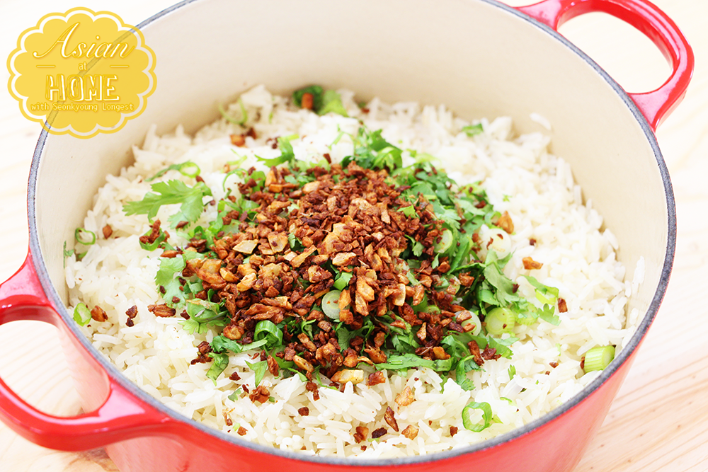 Easy garlic rice recipe video seonkyoung longest img3078 copy ccuart Image collections