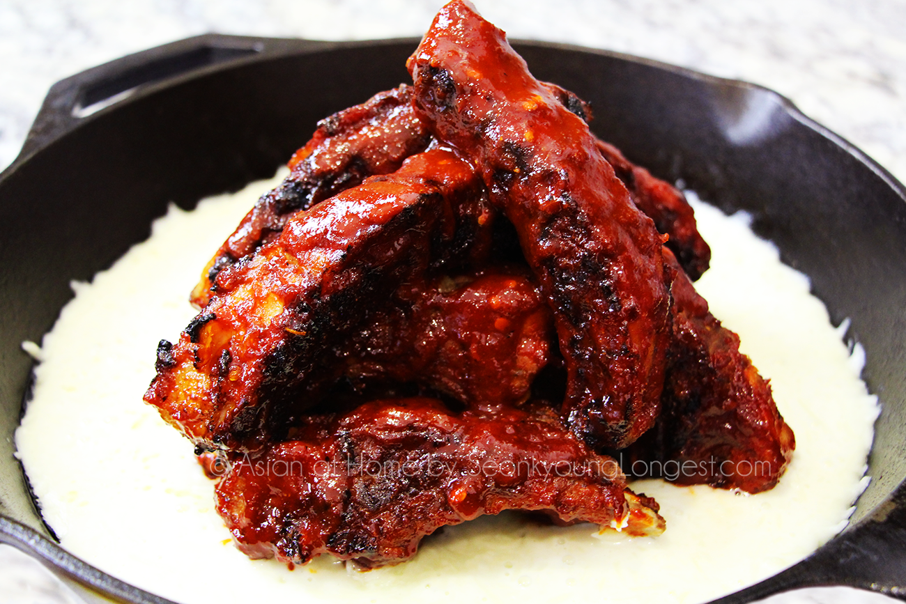 Cheese Baby Back Ribs 치즈등갈비 : Korean Spicy Baby Back Ribs ...
