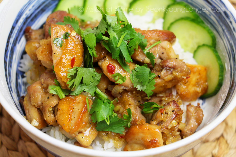Vietnamese Lemongrass Chicken Recipe & Video - Seonkyoung Longest