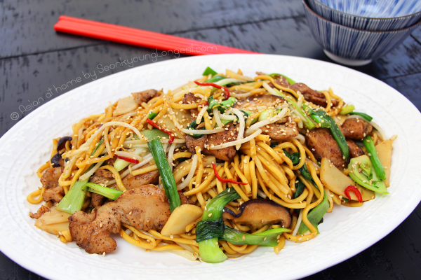 how to make chicken chow mein without oyster sauce