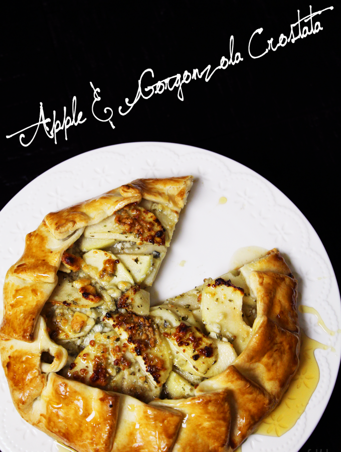Apple & Gorgonzola Crostata Recipe & Video