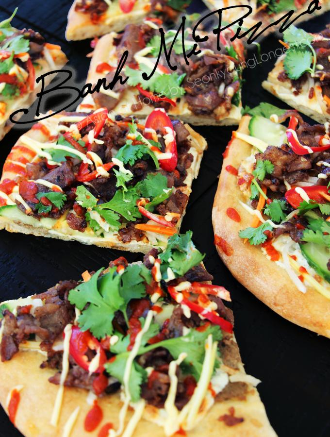 Banh Mi Pizza Recipe & Video