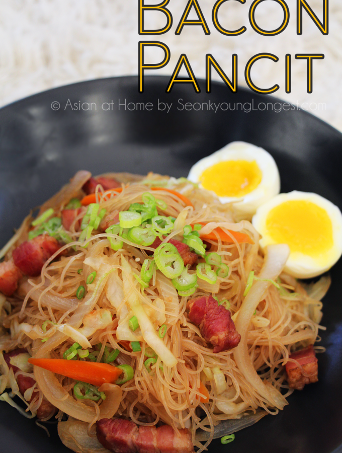 Bacon Pancit Recipe & Video