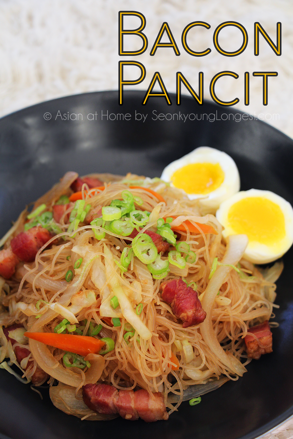 Bacon pancit recipe video seonkyoung longest forumfinder Image collections
