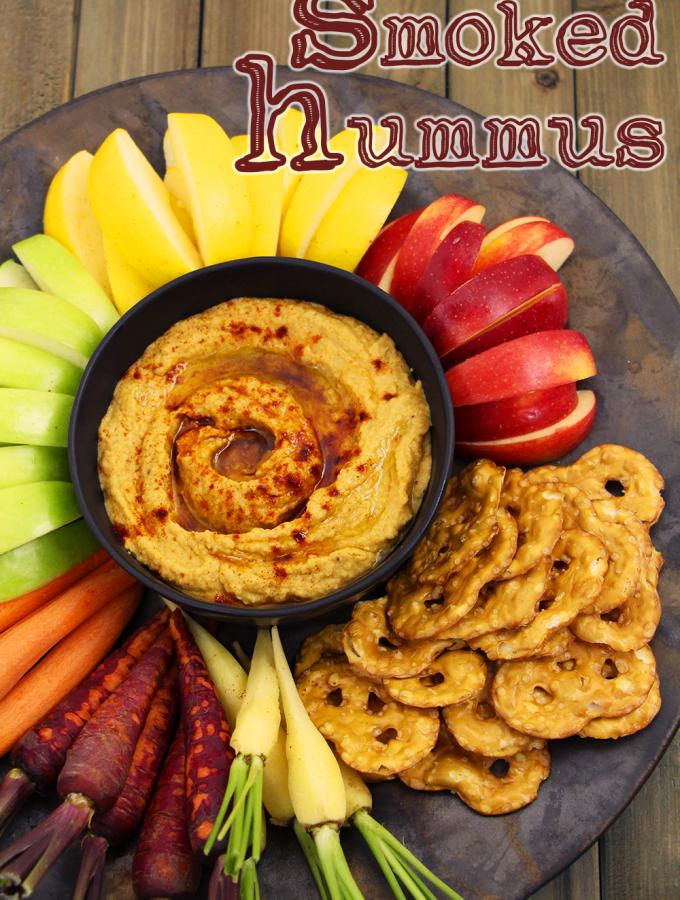 Smoked Hummus Recipe & Video