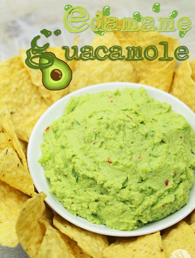 Edamame Guacamole Recipe & Video