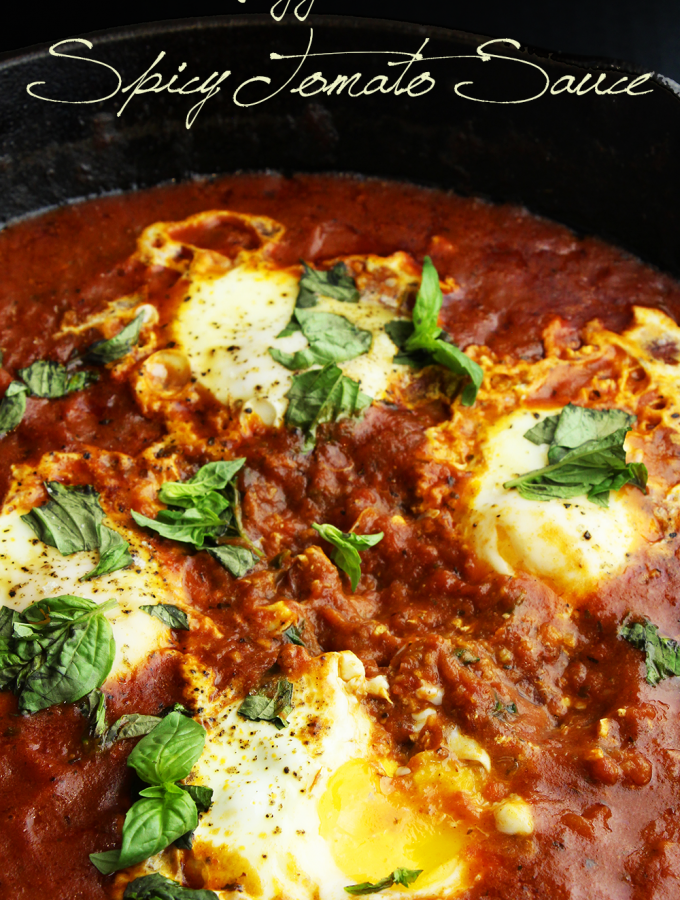 Eggs in Spicy Tomato Sauce Recipe & Video