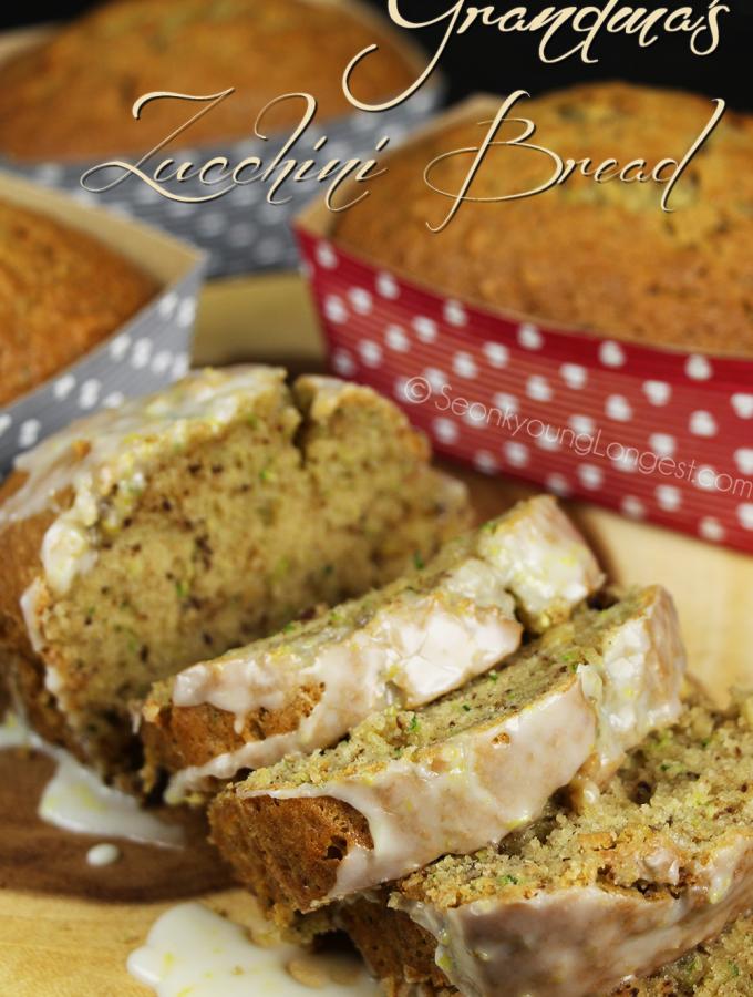 Grandma's Zucchini Bread Recipe & Video
