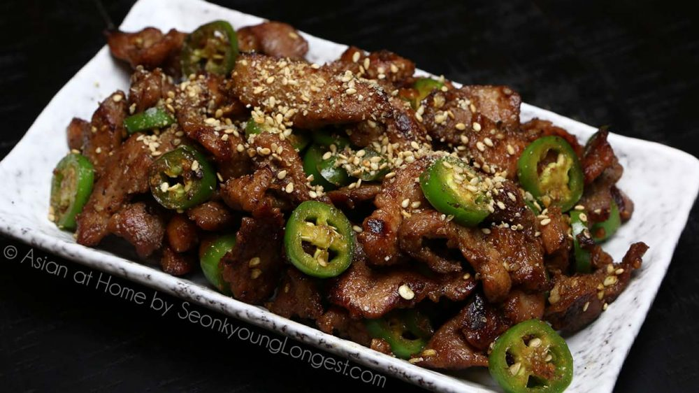 Walmart asian spicy pork recipe video seonkyoung longest lot of my recipes i have on my website definitely check out your walmart of your local grocery stores asian food section you might be very surprise forumfinder Image collections