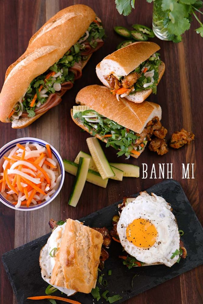 Build Your Own Banh Mi Recipe Amp Video Seonkyoung Longest