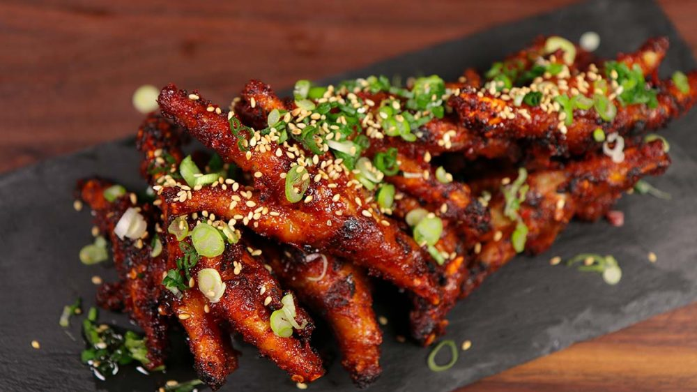 Korean chicken feet dakbal recipe video seonkyoung longest to prepare chicken feet it seems like a lot of time consuming but to get the right flavor and texture it is necessary forumfinder Image collections