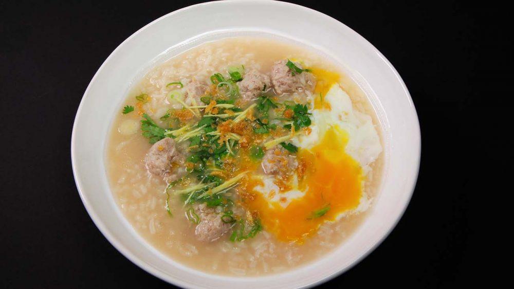 thai chicken rice soup
