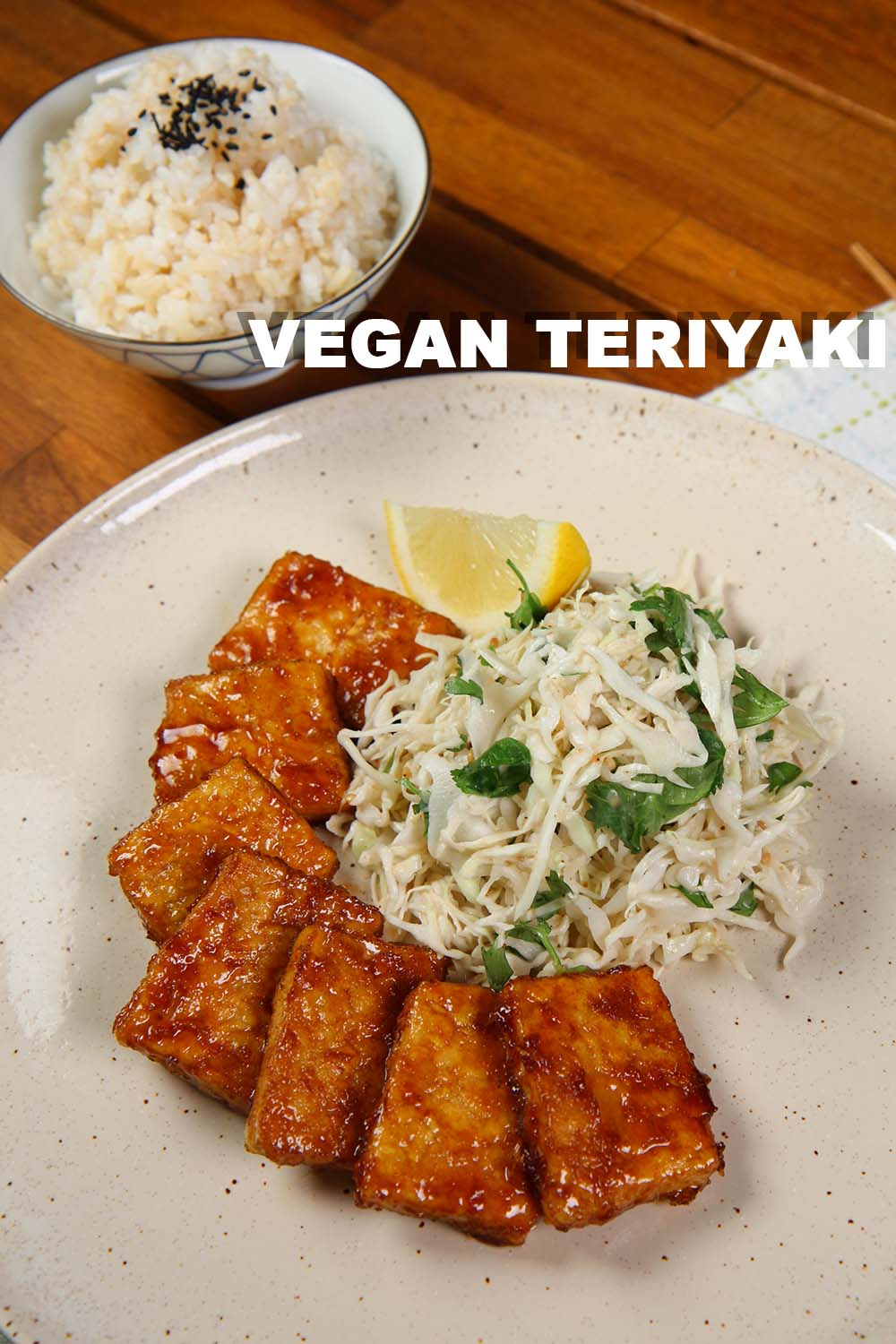 Vegan teriyaki recipe video seonkyoung longest vegan teriyaki recipe is right here recently im so into plant based diet and when i do i have to put my own asian flavors forumfinder Choice Image