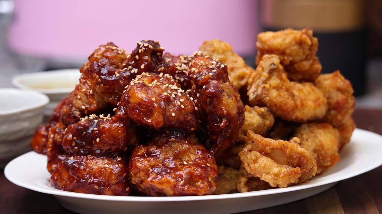 Korean Fried Chicken Recipe Amp Video Seonkyoung Longest