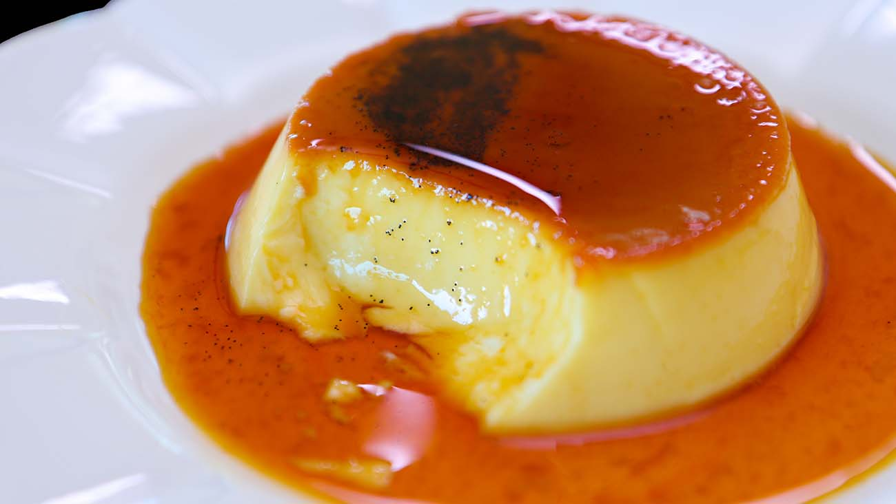 Leche Flan Creme Caramel Purin Recipe Amp Video