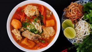The BEST Bun Rieu, Vietnamese Crab Noodle Soup Recipe & Video - Seonkyoung Longest