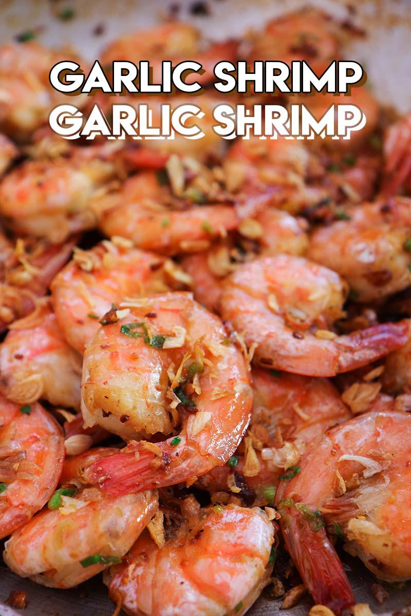 Garlic Shrimp Recipe Video Seonkyoung Longest