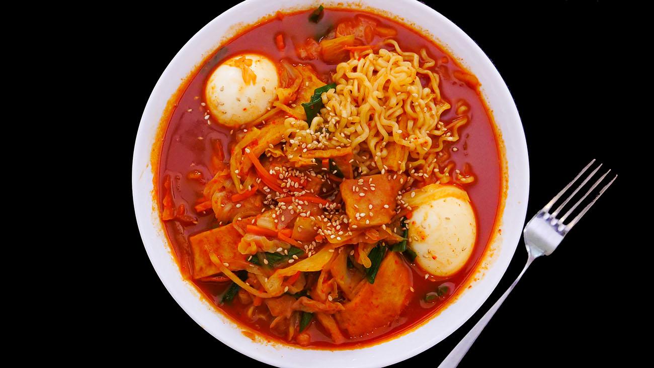 Rabokki Korean Sweet Amp Spicy Ramen Recipe Amp Video