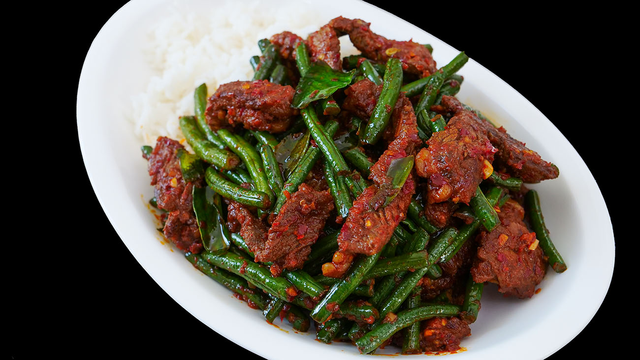 Pad Prik King Thai Red Curry Stir Fried Green Beans Recipe Amp Video Seonkyoung Longest