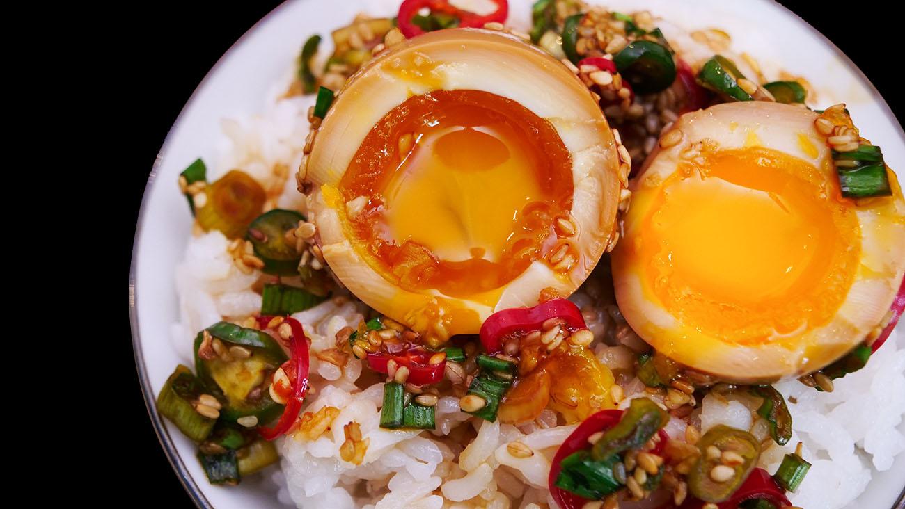 Mayak Eggs Korean Marinated Eggs Recipe Amp Video