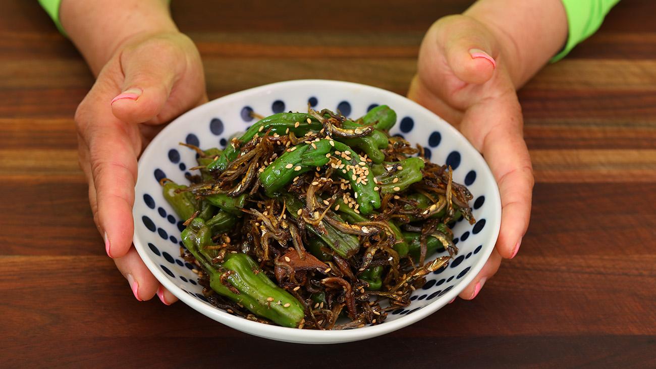 Korean Pepper and Anchovies (Myulchi Bokkeum) Recipe & Video