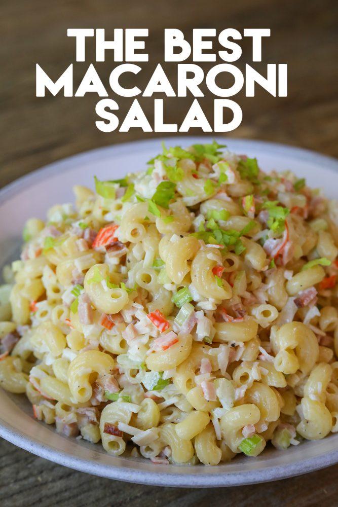 The Best Macaroni Salad Recipe Video Seonkyoung Longest